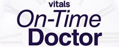 Dr. Ayoub won The Vitals' On-Time Doctor Award